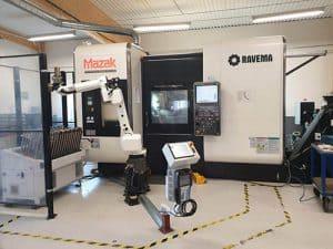 Mazak-INTEGREX-i-200S / 5-Axlad Multimaskin med Robothantering